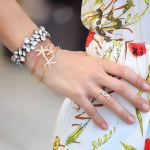Crystal Statement Bracelet